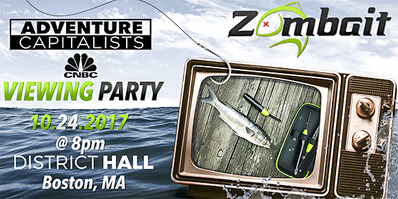 Zombait – Robotics Meets Sport Fishing Coming To CNBC Adventure Capitalists